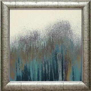 Roberto Gonzalez 'Teal Woods' Framed Artwork