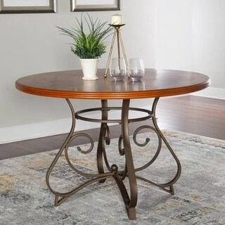 Powell Eden Dining Table - Cherry