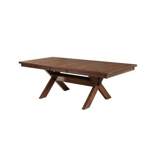 Powell Demeter Dining Table - Brown