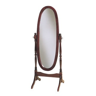 Powell Heirloom Cherry Finished Adjustable Cheval Mirror