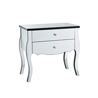 Powell Bethany Mirrored 2-drawer Console