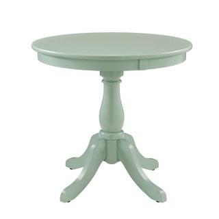 Powell Hertford Round Aqua Table