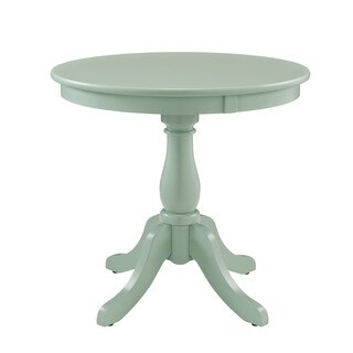 Powell Hertford Round Aqua Table