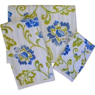 Waverly Refresh Print 3-piece Towel Set