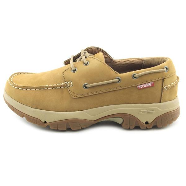 Shop Wolverine Men's 'Bowline' Leather Casual Shoes Extra
