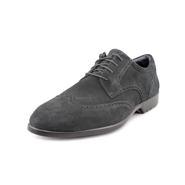 Rockport Men's 'Total Motion Wingtip' Regular Suede Dress Shoes ...