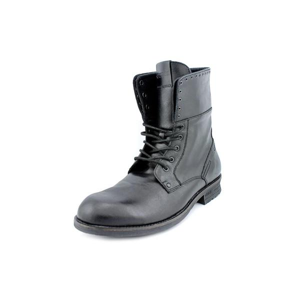 13d1093d7d2 Shop Guess Men's 'Differ' Leather Boots (Size 10 ) - Free Shipping ...