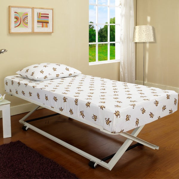 Shop B59 3 Roll Out Steel Pop Up Trundle Bed Free