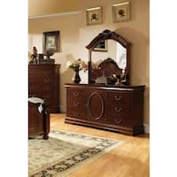 Copper Grove Prince English Style 2-piece Dresser and Mirror Set