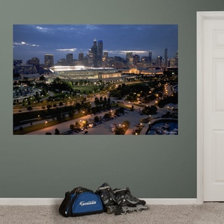 Fathead Soldier Field Chicago Skyline Mural Wall Decals