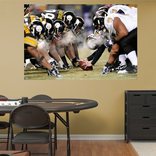 Fathead Steelers-Ravens Mural Wall Decals