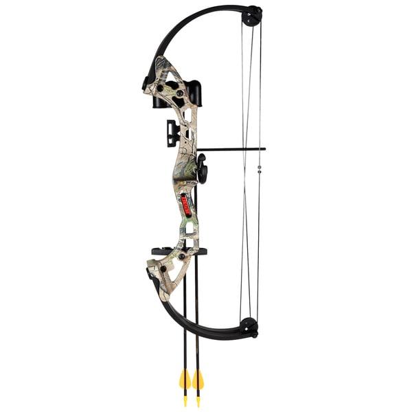 Bear Archery Brave Camo AYS300CR RH Bow Set