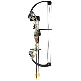 Bear Archery Brave Camo AYS300CR RH Bow Set