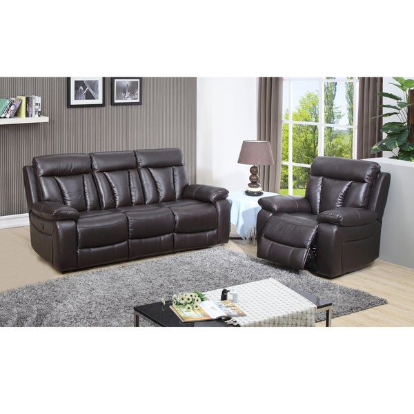 Dark Brown Leather Recliner Chair lotus dark brown top grain leather lay flat reclining sofa and