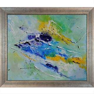 Pol Ledent 'Abstract' Framed Fine Art Print