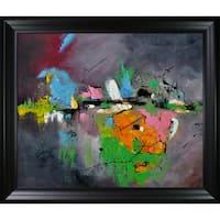 Pol Ledent 'Abstract 8821503' Framed Fine Art Print