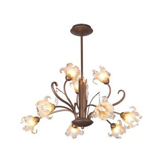 Bloom Bronze Chandelier