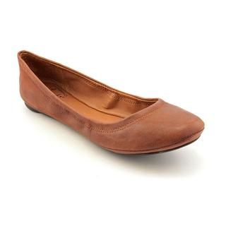 Lucky Brand Women's 'Emmie' Leather Casual Shoes - Wide (Size 7.5 )