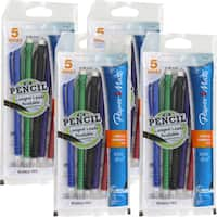 Papermate Write Bros. Assorted Colors 0.7mm Mechanical Pencils (Pack of 20)