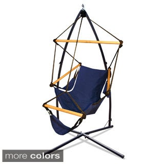 Hammaka Hammock Chair and Summit Steel Stand Combo