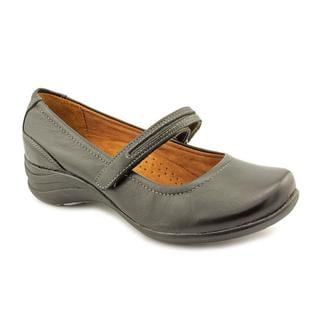Hush Puppies Women's 'Epic Mary Jane' Leather Casual Shoes