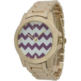 Olivia Pratt Women's Chevron Boyfriend Watch