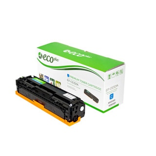 Ecoplus HP EPCE321A Re-manufactured Toner Cartridge (Cyan)