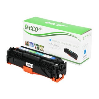 Ecoplus HP EPCE411A Re-manufactured Toner Cartridge (Cyan)