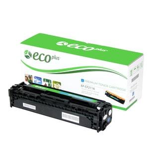 Ecoplus HP EPCF211A Re-manufactured Toner Cartridge (Cyan)