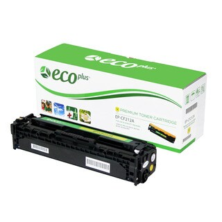 Ecoplus HP EPCF212A Re-manufactured Toner Cartridge (Yellow)