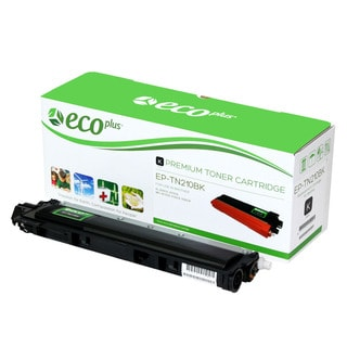 Ecoplus Brother EPTN210BK Re-manufactured Toner Cartridge (Black)