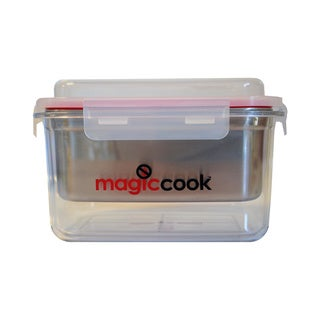 Magic Cook Triple Layers Portable Lunch Box Container Cooker and Large Heat Pack