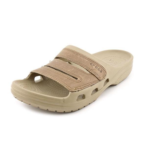 4fd996a84d8 Shop Crocs Men s  Yukon Slide M  Man-Made Sandals (Size 8 ) - Free ...