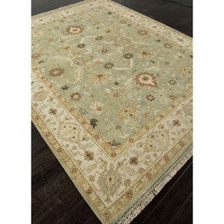 Hand-Knotted Oriental Blue Area Rug (9' X 12')