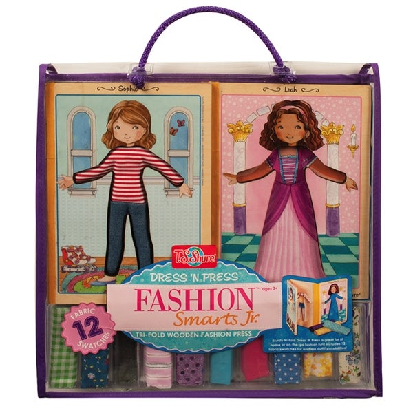 Dress and Press Fashion Smarts Jr. Tri-Fold Wood Press