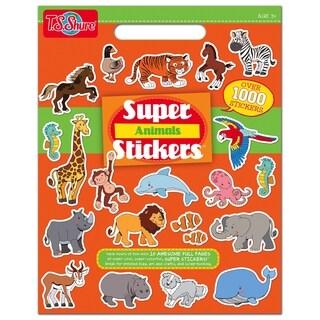 T.S. Shure Animals Super Sticker Book