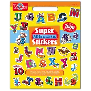 T.S. Shure ABCs and 123s Super Sticker Book