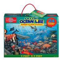 T.S. Shure Amazon Ocean Life Jumbo Floor Puzzle