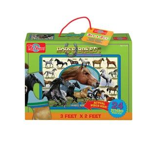 T.S. Shure Horse Breeds Jumbo Floor Puzzle