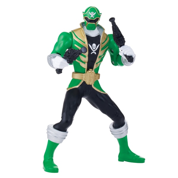 Bandai Power Rangers Double Battle Action Green Ranger