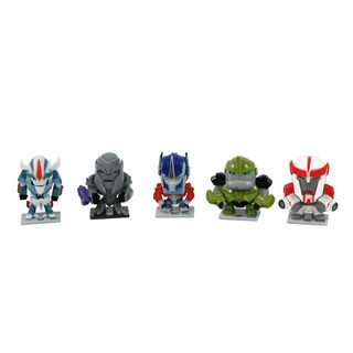 Transformers Prime Characters 30th Anniversary Set - Grey/White
