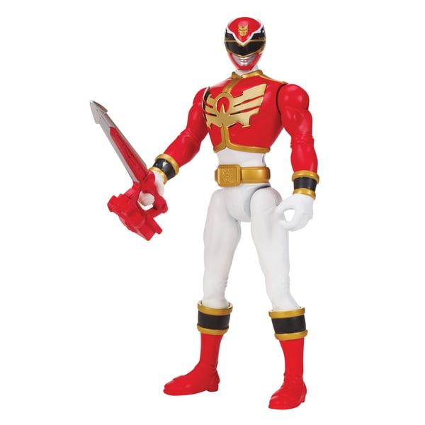 Power Rangers Megaforce Deluxe Super Mega Silver Ranger