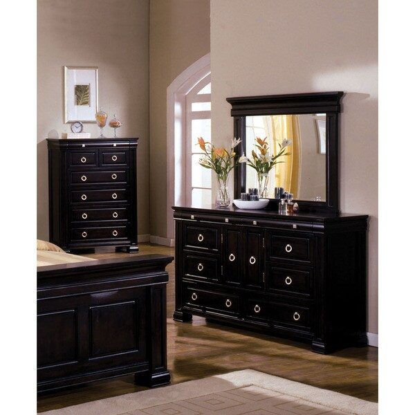 Furniture of america claresse transitional 2 piece dresser for Today s home furniture