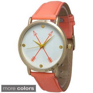 Olivia Pratt Women's Crossing Arrows Alloy Quartz Watch
