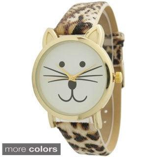 Olivia Pratt TomCat Dial Leather Watch