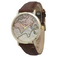 Olivia Pratt Women's Travelers Leather Watch