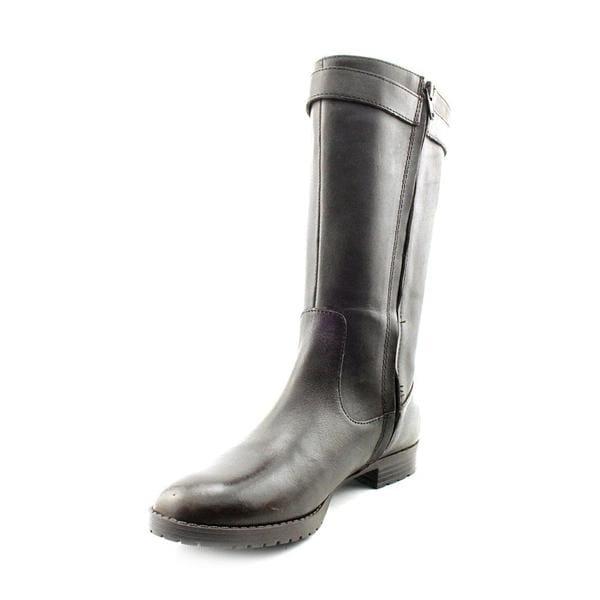 Lauren Ralph Lauren Women S Sorissa Leather Boots Free