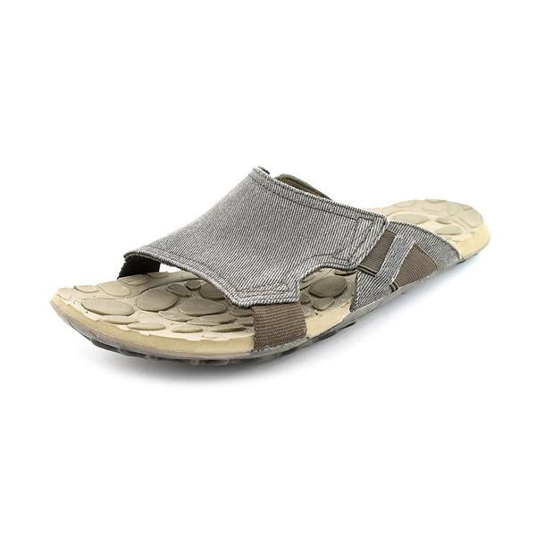 Evo Slide Canvas' Basic Textile Sandals