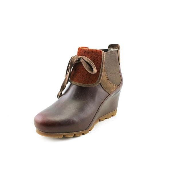 b1b4dc28fe8 Shop Merrell Women s  Wedgetarian Eve  Leather Boots (Size 5 ...