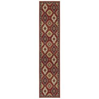 Woven Karastan Woolrich Loramar Spice Wool Rug (2'5 x 12')